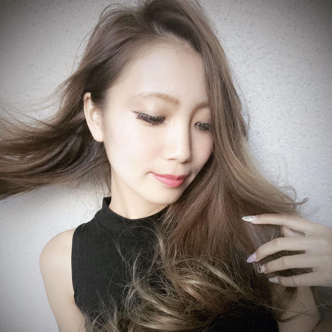 ロング パンク ヘアアレンジ ストリートヘアスタイルや髪型の写真・画像