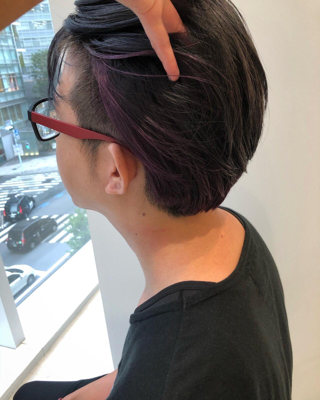 ナチュラル メンズヘア メンズカット ショートヘアスタイルや髪型の写真・画像