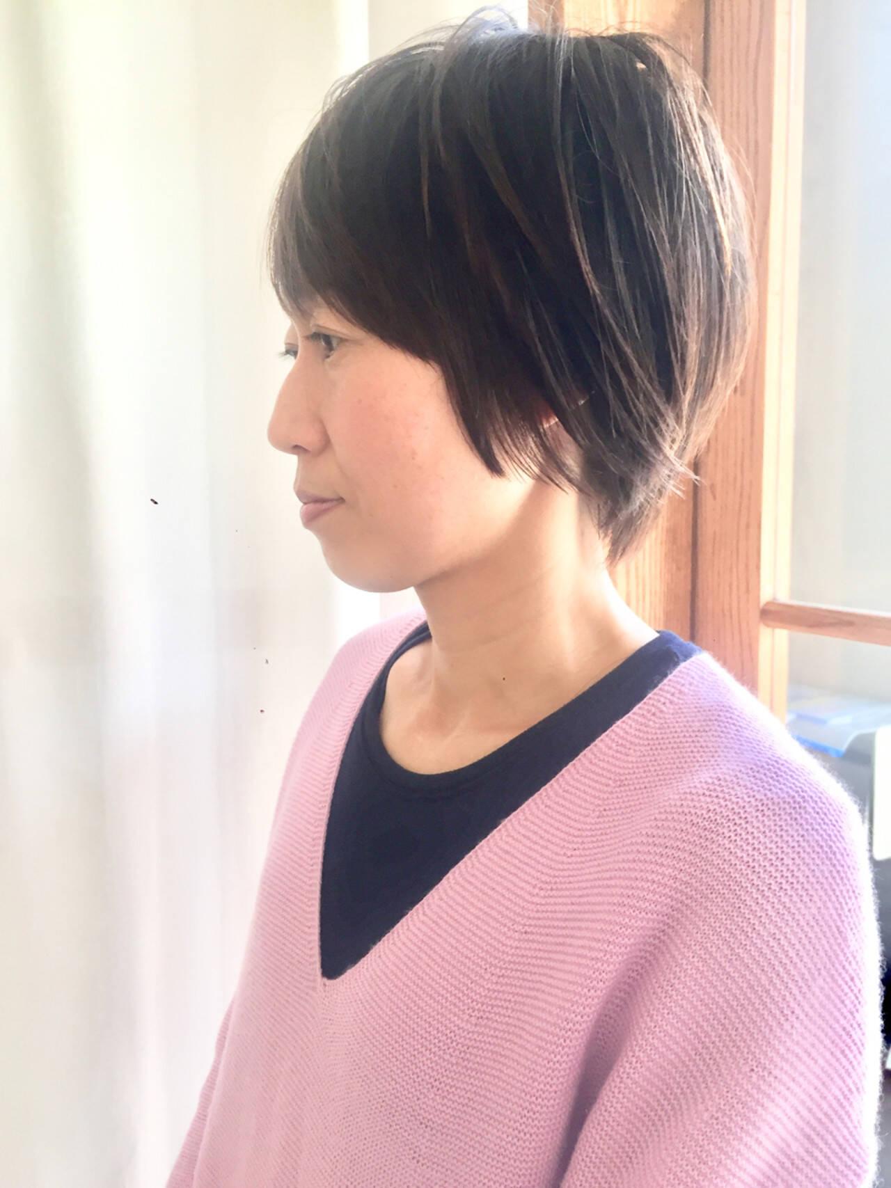 かっこいい オフィス 大人女子 コンサバヘアスタイルや髪型の写真・画像