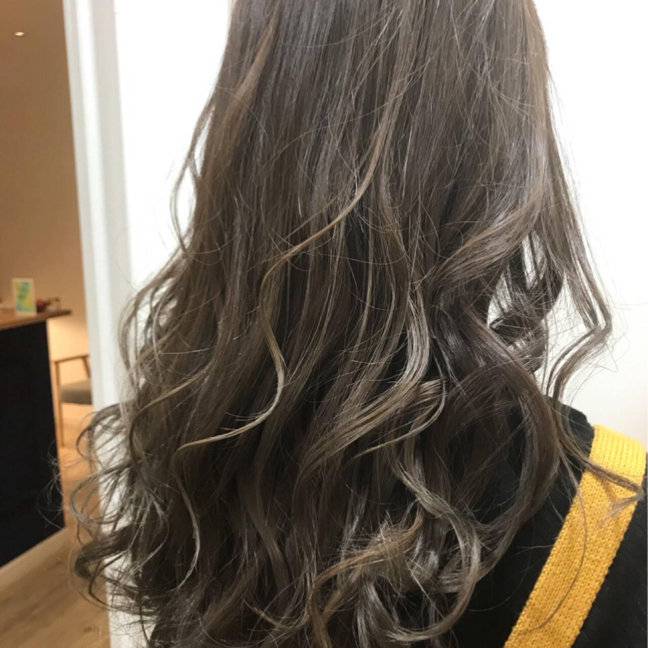 ハイライト 外国人風 透明感 デートヘアスタイルや髪型の写真・画像