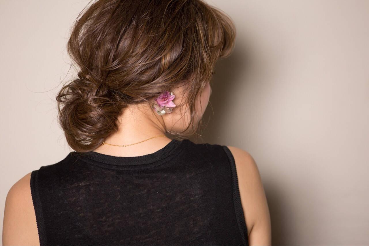 ゆるふわ ガーリー フェミニン 外国人風ヘアスタイルや髪型の写真・画像