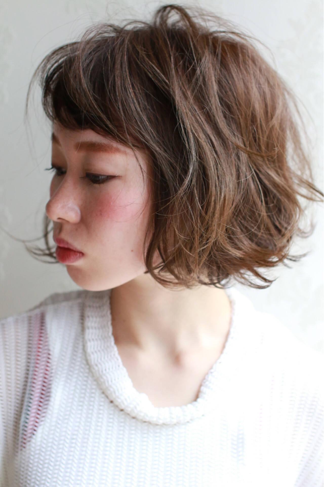 こなれ感 ナチュラル 小顔 大人女子ヘアスタイルや髪型の写真・画像