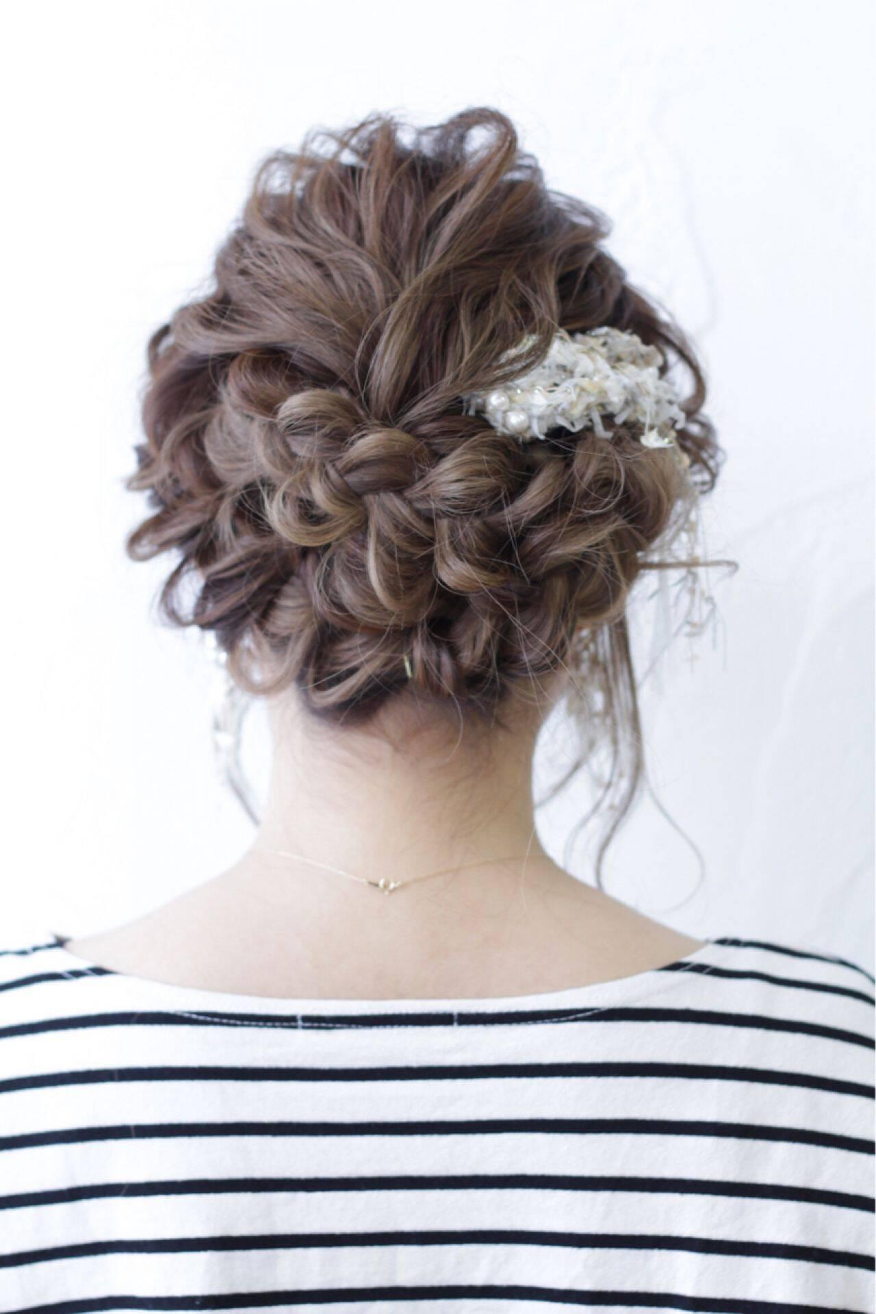 モテ髪 愛され ゆるふわ コンサバヘアスタイルや髪型の写真・画像