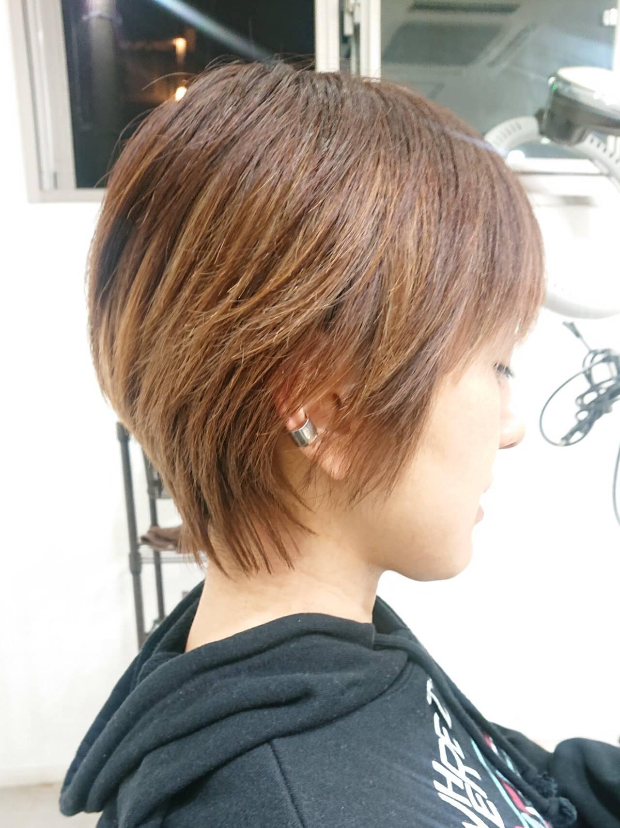 ハンサムショート ナチュラル 簡単スタイリング ショートヘアスタイルや髪型の写真・画像