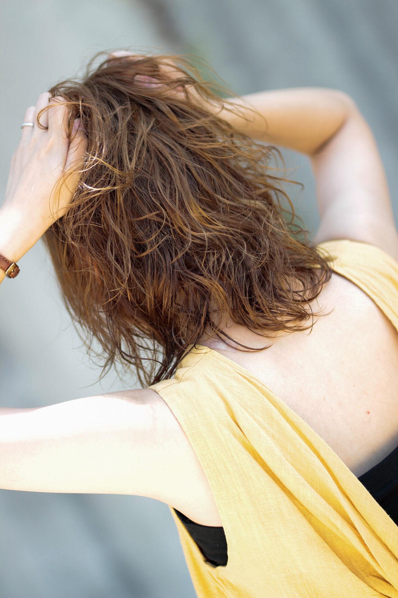 ゆるふわセット 毛先パーマ 無造作パーマ デジタルパーマヘアスタイルや髪型の写真・画像
