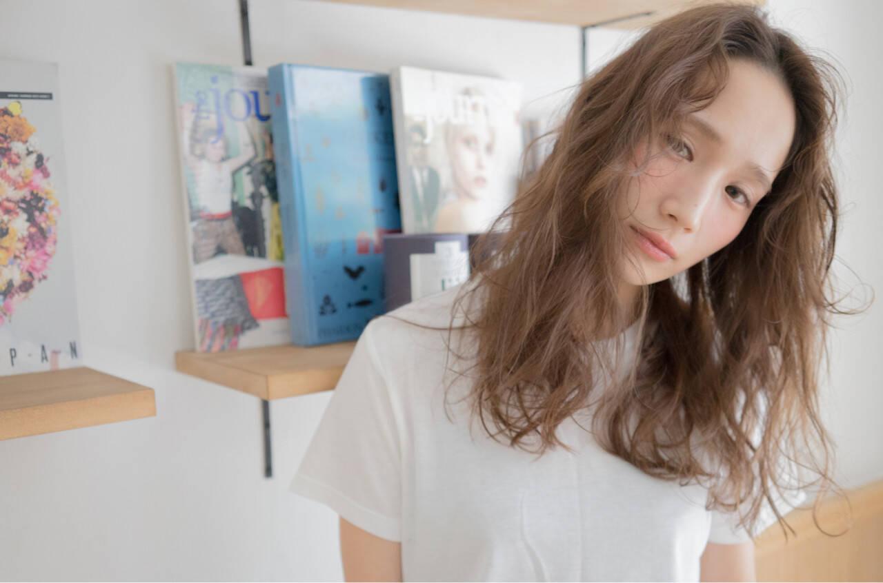 抜け感 モード 外国人風 ストリートヘアスタイルや髪型の写真・画像