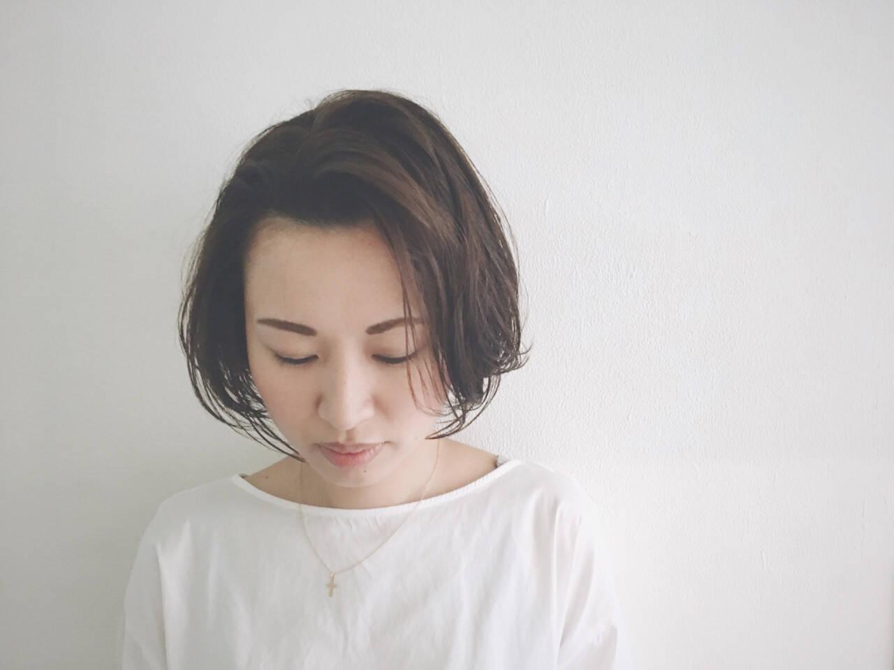 ショート 外国人風カラー 透明感 グレージュヘアスタイルや髪型の写真・画像