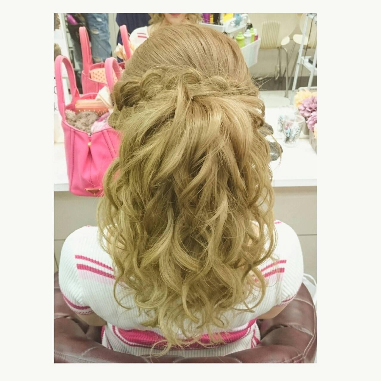 夏 エレガント ロング 色気ヘアスタイルや髪型の写真・画像