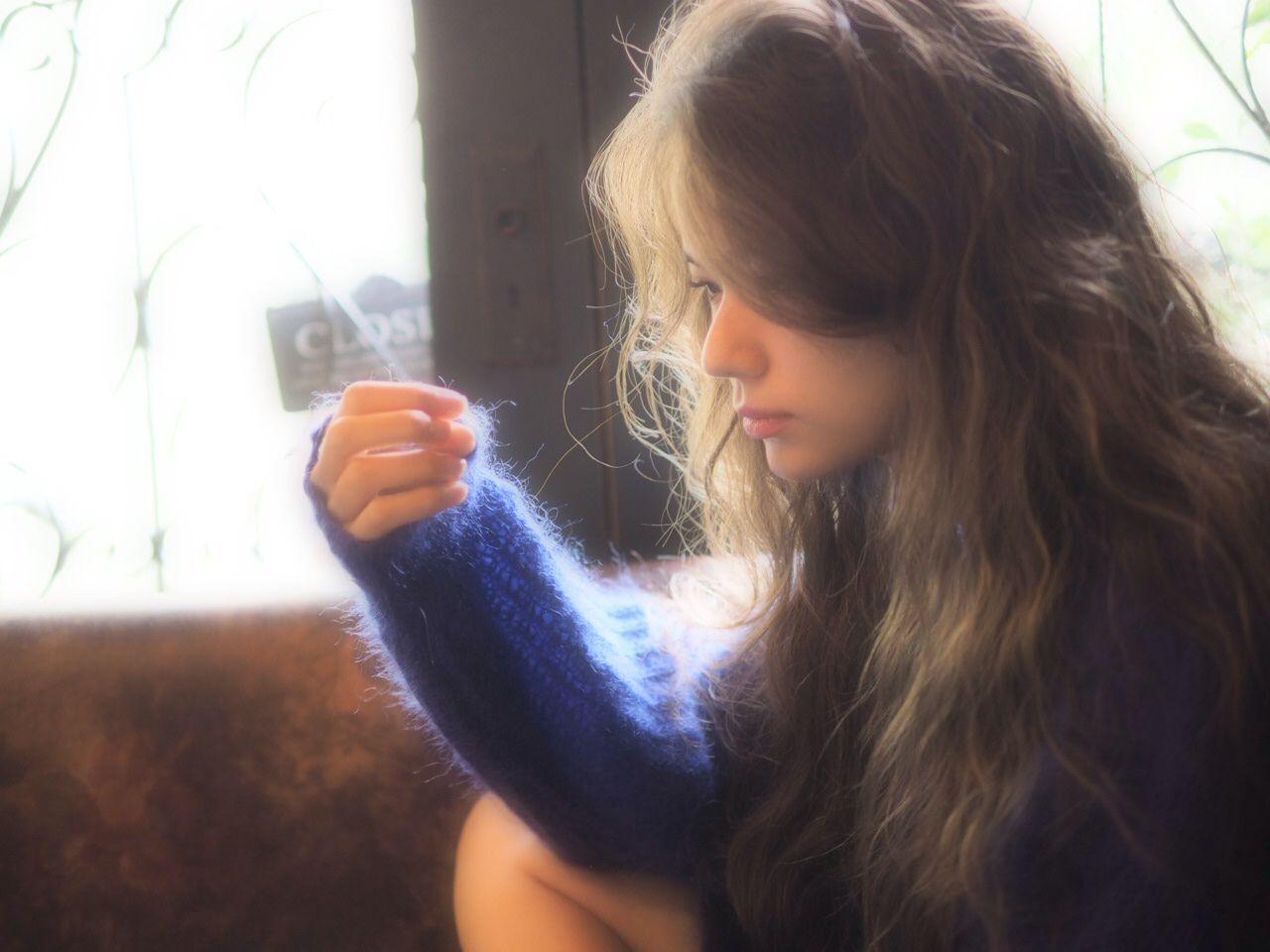 ゆるふわ コンサバ ロング モテ髪ヘアスタイルや髪型の写真・画像