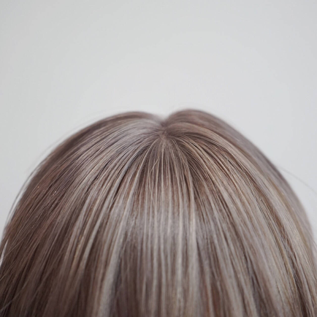 ボブ ナチュラル 透明感 ミルクティーヘアスタイルや髪型の写真・画像