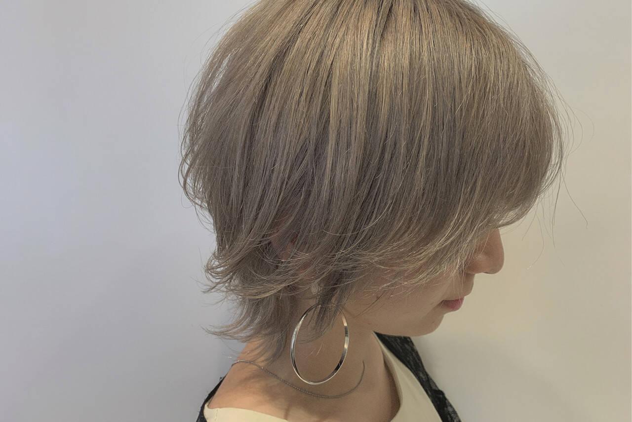 ウルフカット ウルフ女子 フェミニンウルフ ショートヘアスタイルや髪型の写真・画像