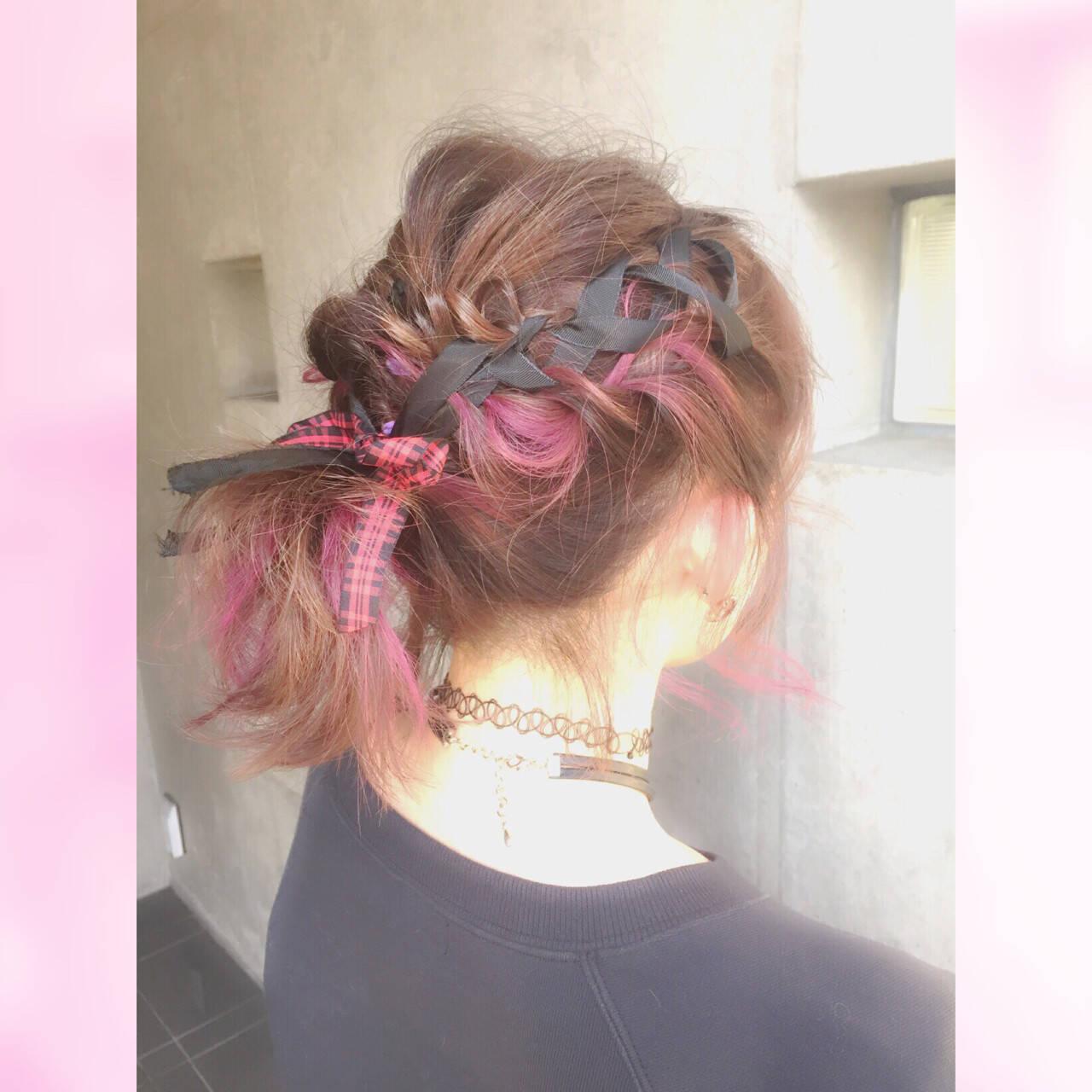 ショート ゆるふわ フェミニン ミディアムヘアスタイルや髪型の写真・画像