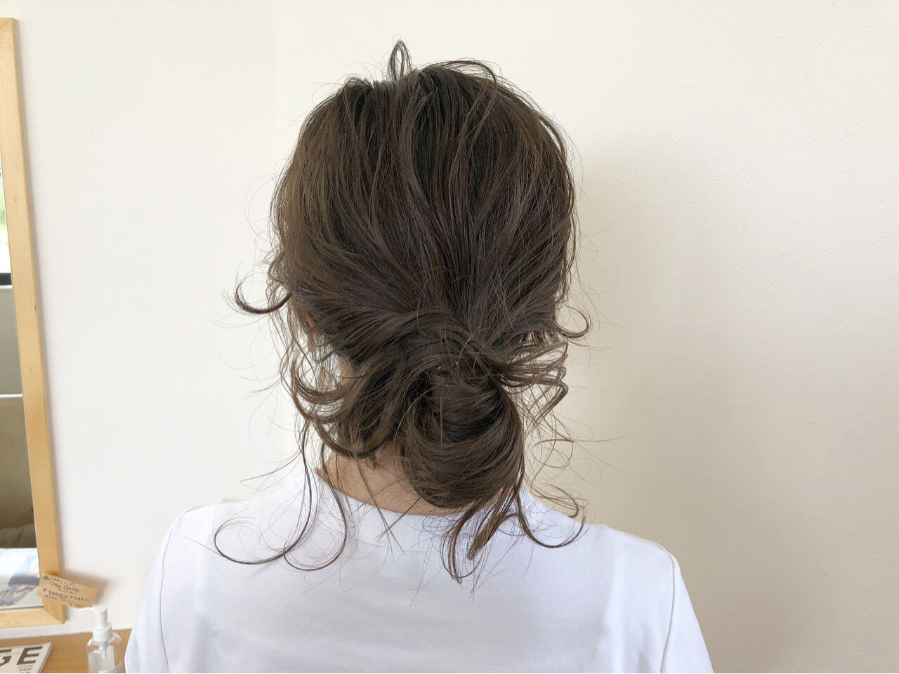 結婚式 ヘアアレンジ デート 前髪ありヘアスタイルや髪型の写真・画像