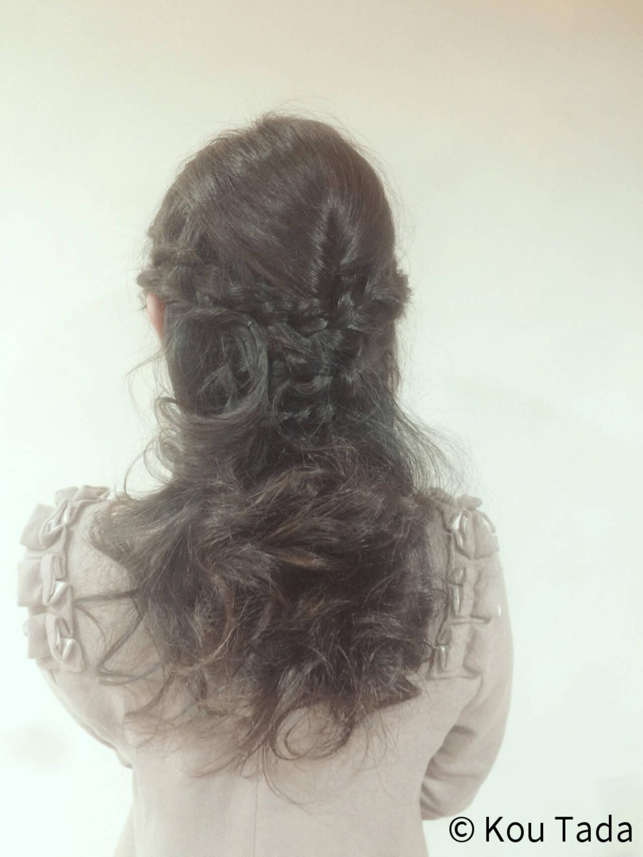 パーティ フェミニン 結婚式 ショートヘアスタイルや髪型の写真・画像