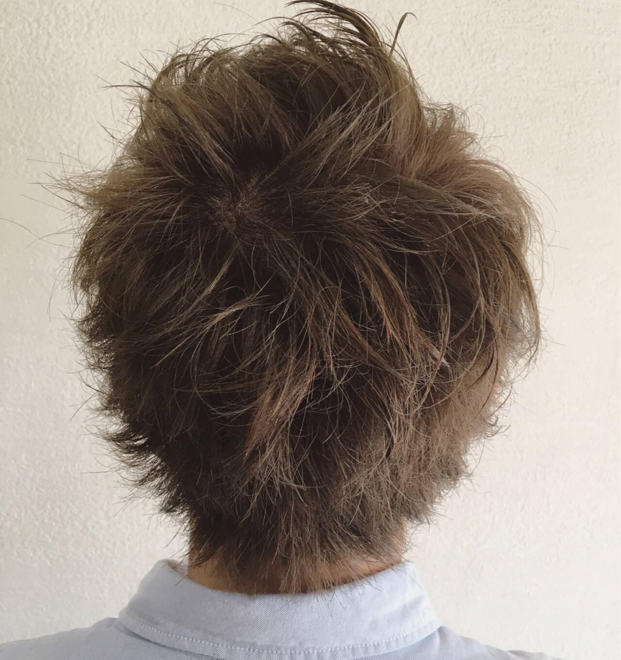 似合わせ ナチュラル ショート メンズヘアスタイルや髪型の写真・画像