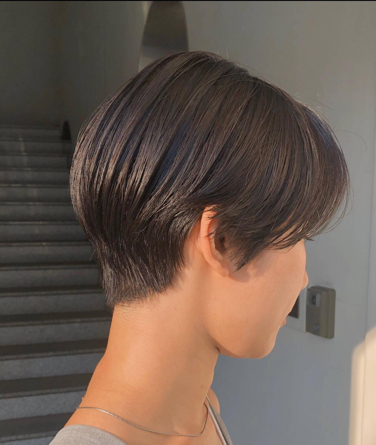 ショート ショートカット ショートヘア 大人可愛いヘアスタイルや髪型の写真・画像