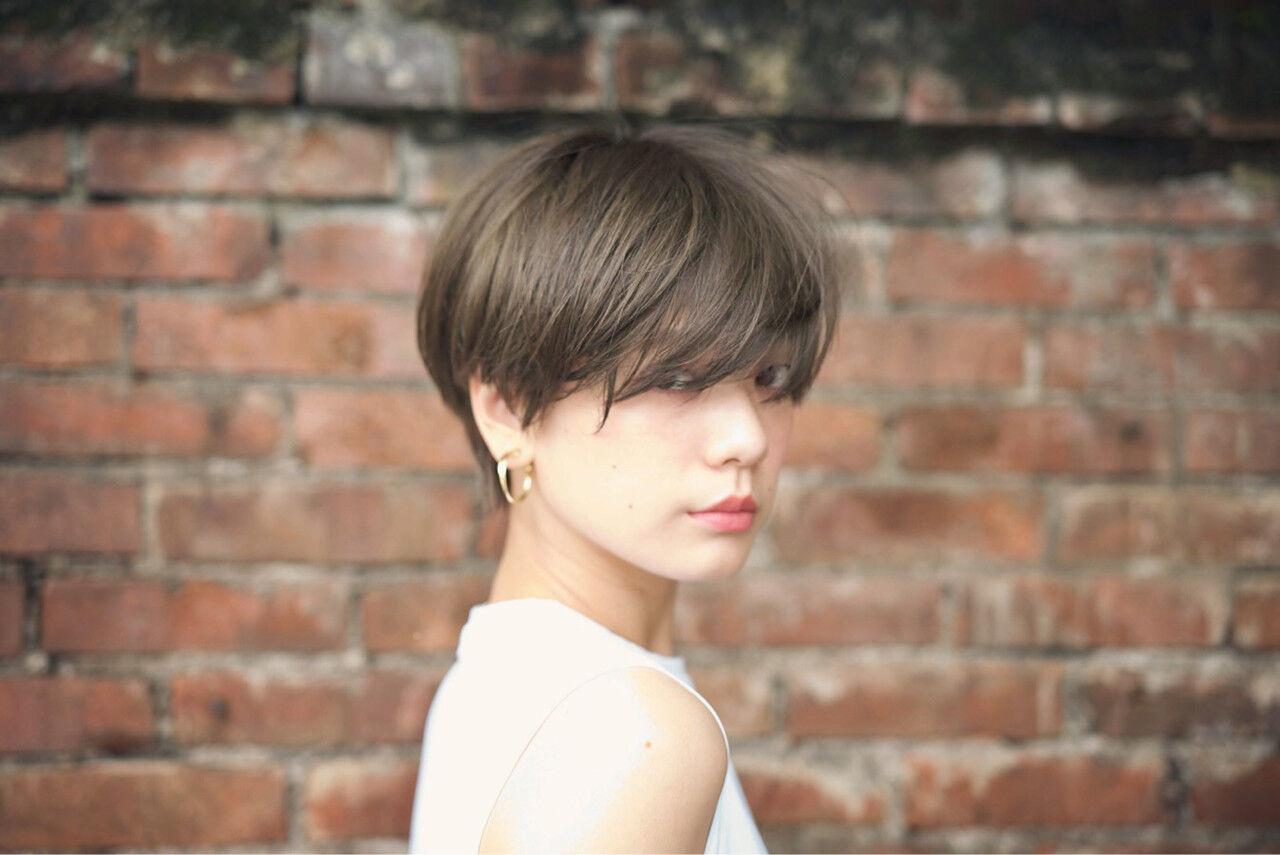 大人かわいい ショート ナチュラル 外国人風ヘアスタイルや髪型の写真・画像
