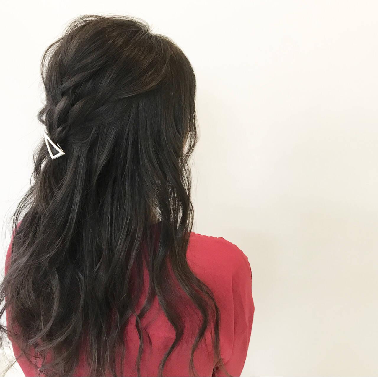 秋 色気 透明感 ヘアアレンジヘアスタイルや髪型の写真・画像