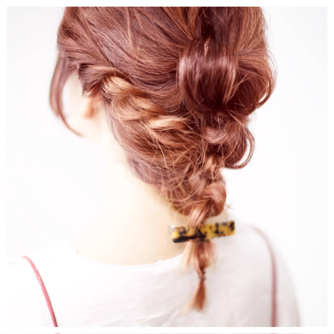 ミディアム ショート ゆるふわ ハイライトヘアスタイルや髪型の写真・画像