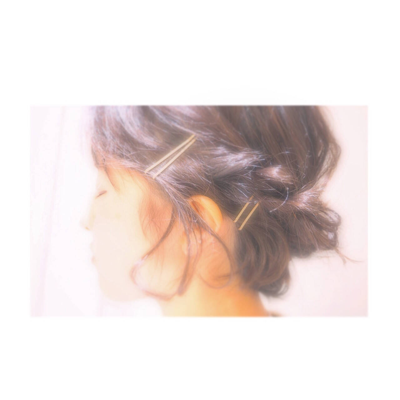 簡単ヘアアレンジ ロープ編み ヘアアレンジ ボブヘアスタイルや髪型の写真・画像