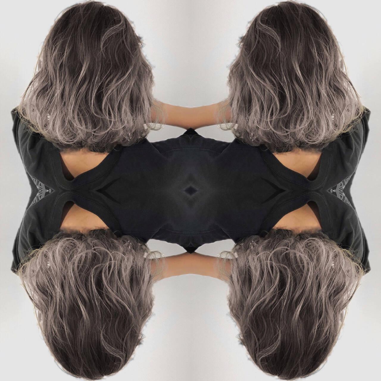 外国人風カラー 透明感 外国人風 フェミニンヘアスタイルや髪型の写真・画像