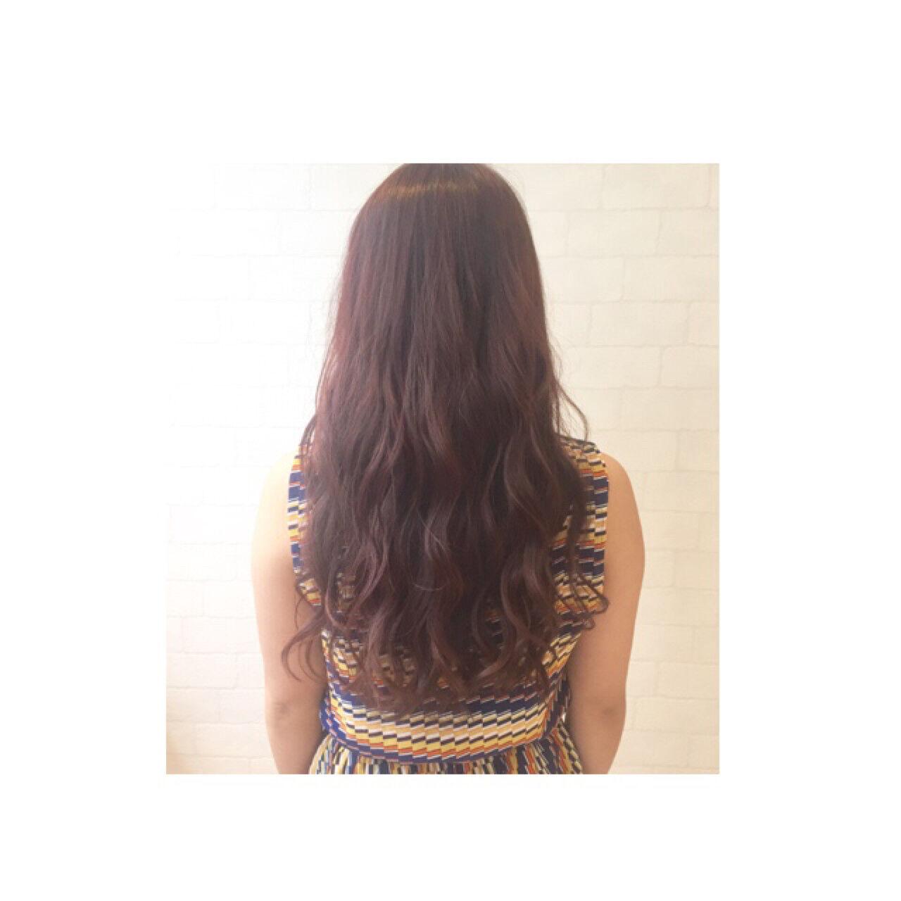 ナチュラル グラデーションカラー セミロング 大人かわいいヘアスタイルや髪型の写真・画像