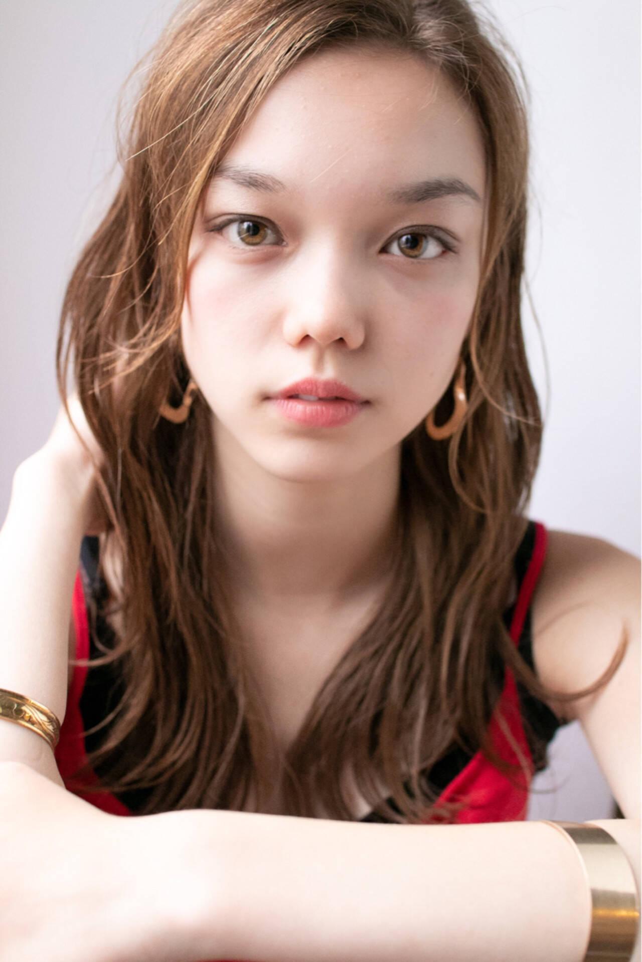 ヘアアレンジ セミロング モテ髪 大人かわいいヘアスタイルや髪型の写真・画像