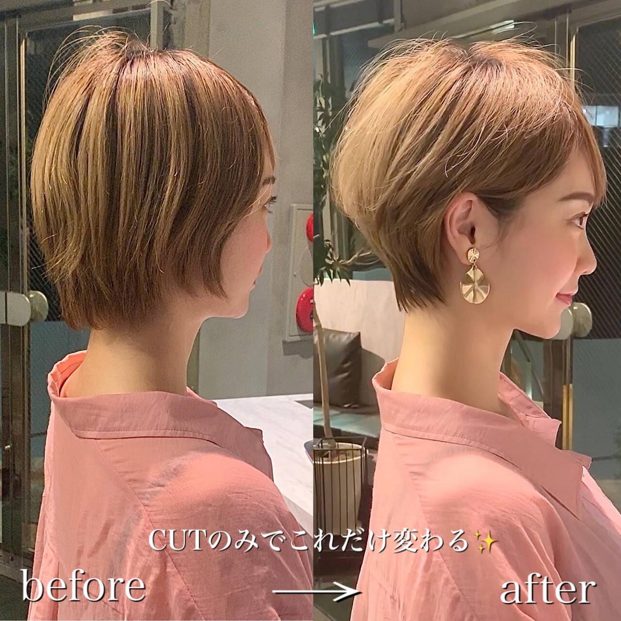 ショート 長澤まさみ 田丸麻紀 ショートヘアヘアスタイルや髪型の写真・画像