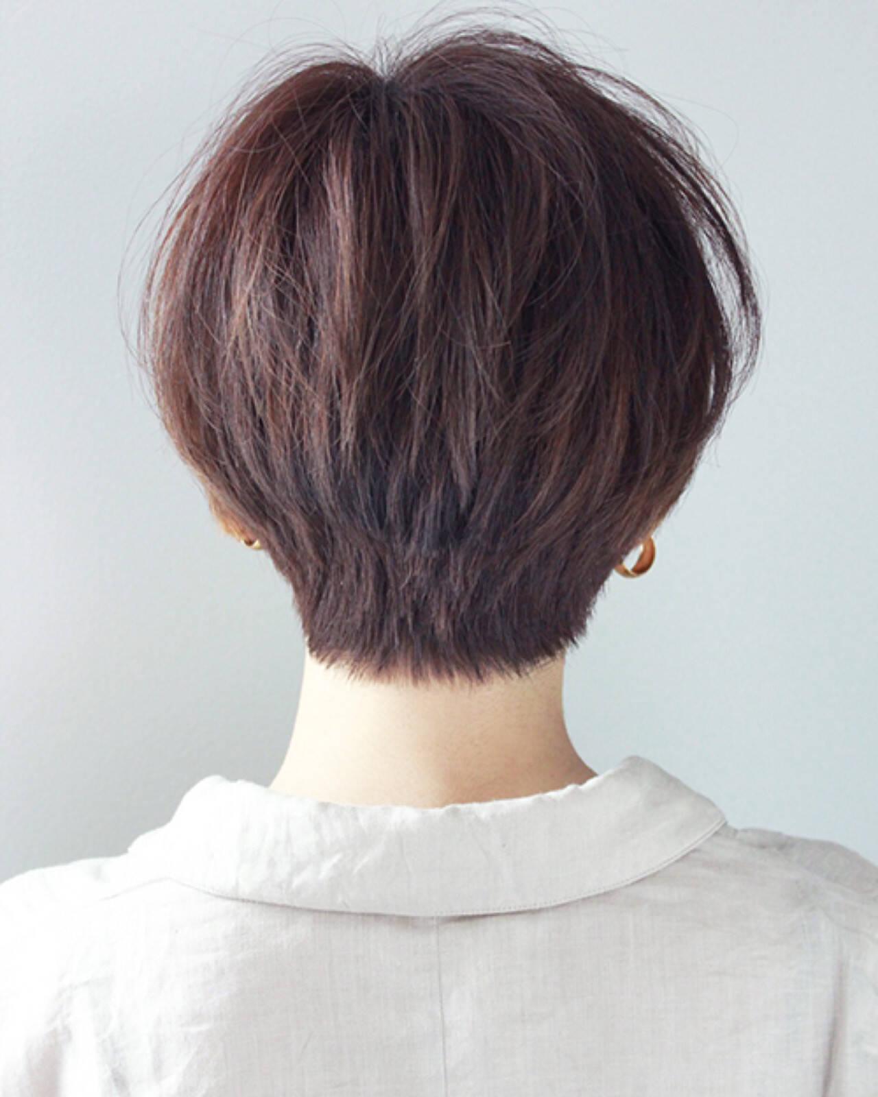 小顔 マッシュ モード ダブルカラーヘアスタイルや髪型の写真・画像