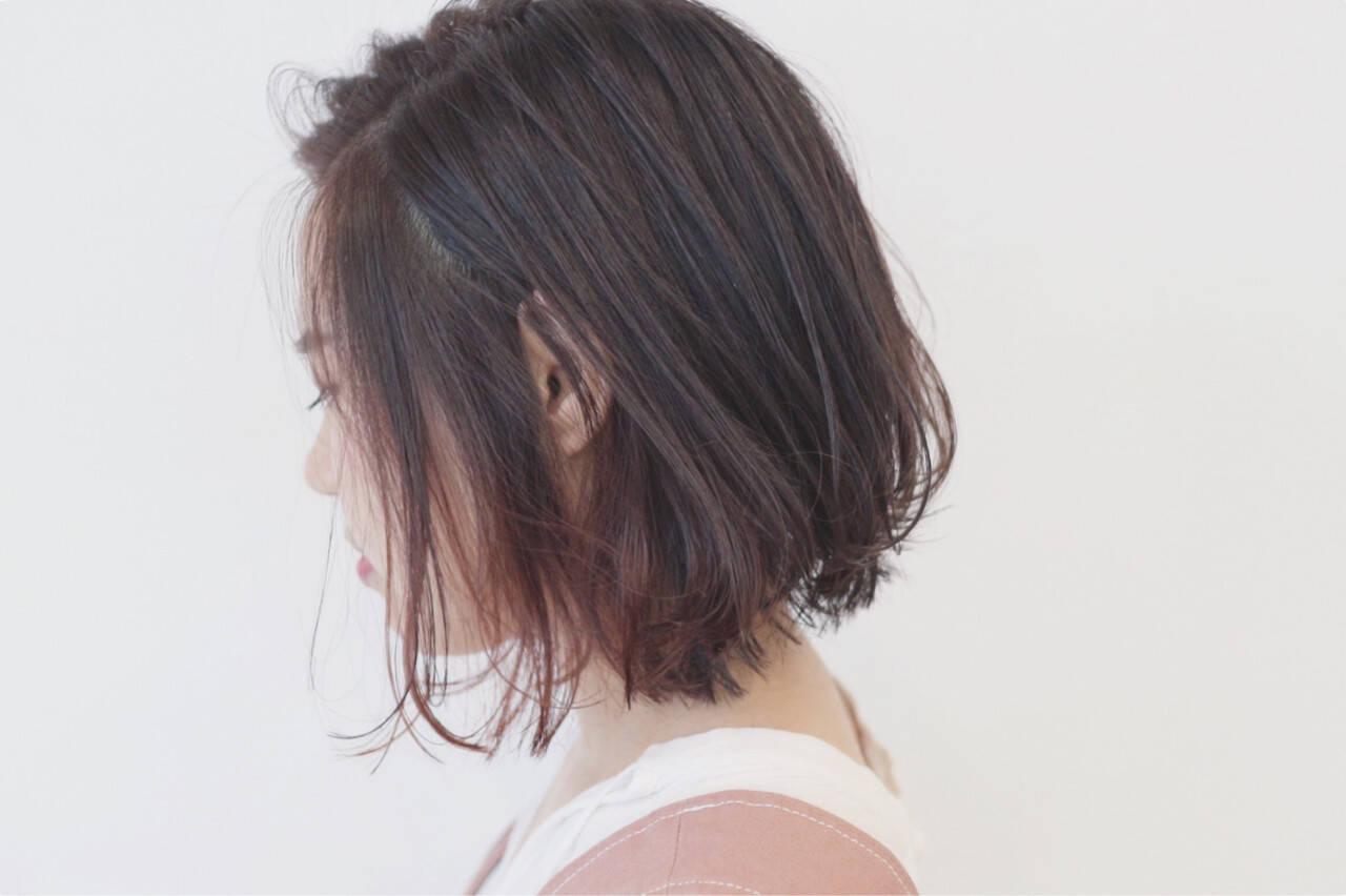 ストリート インナーカラー 外国人風 ボブヘアスタイルや髪型の写真・画像