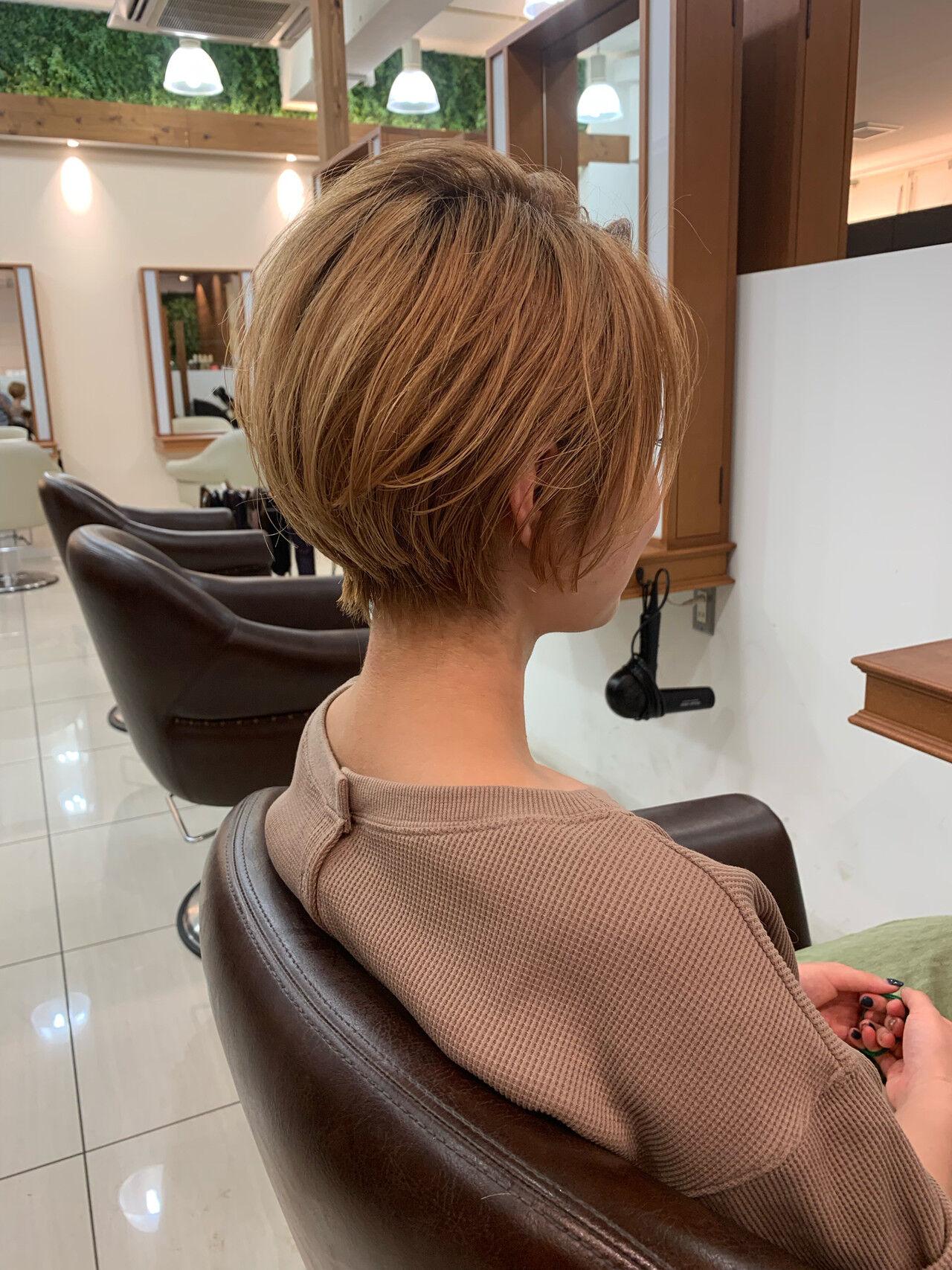 ショートヘア ショート 可愛い 大人可愛いヘアスタイルや髪型の写真・画像