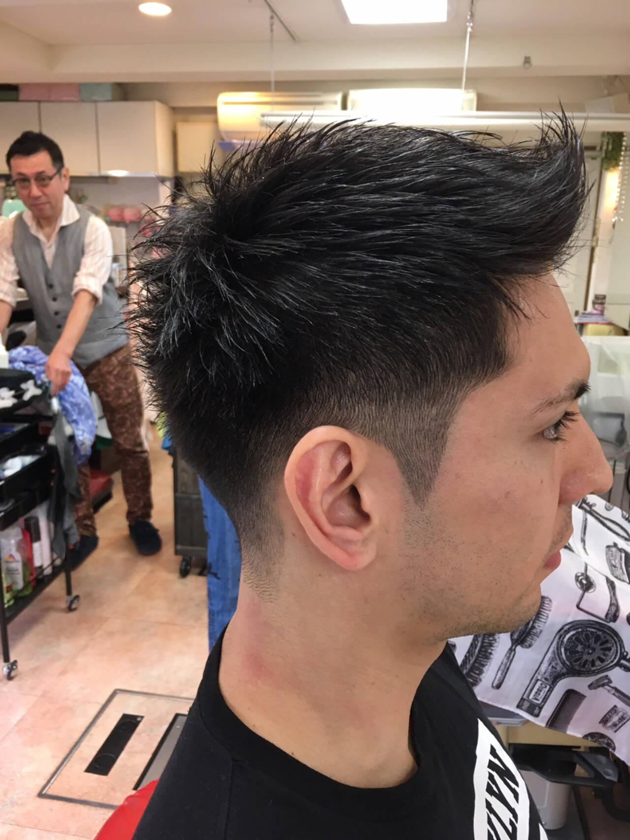 ショート 刈り上げ ストリート ボーイッシュヘアスタイルや髪型の写真・画像
