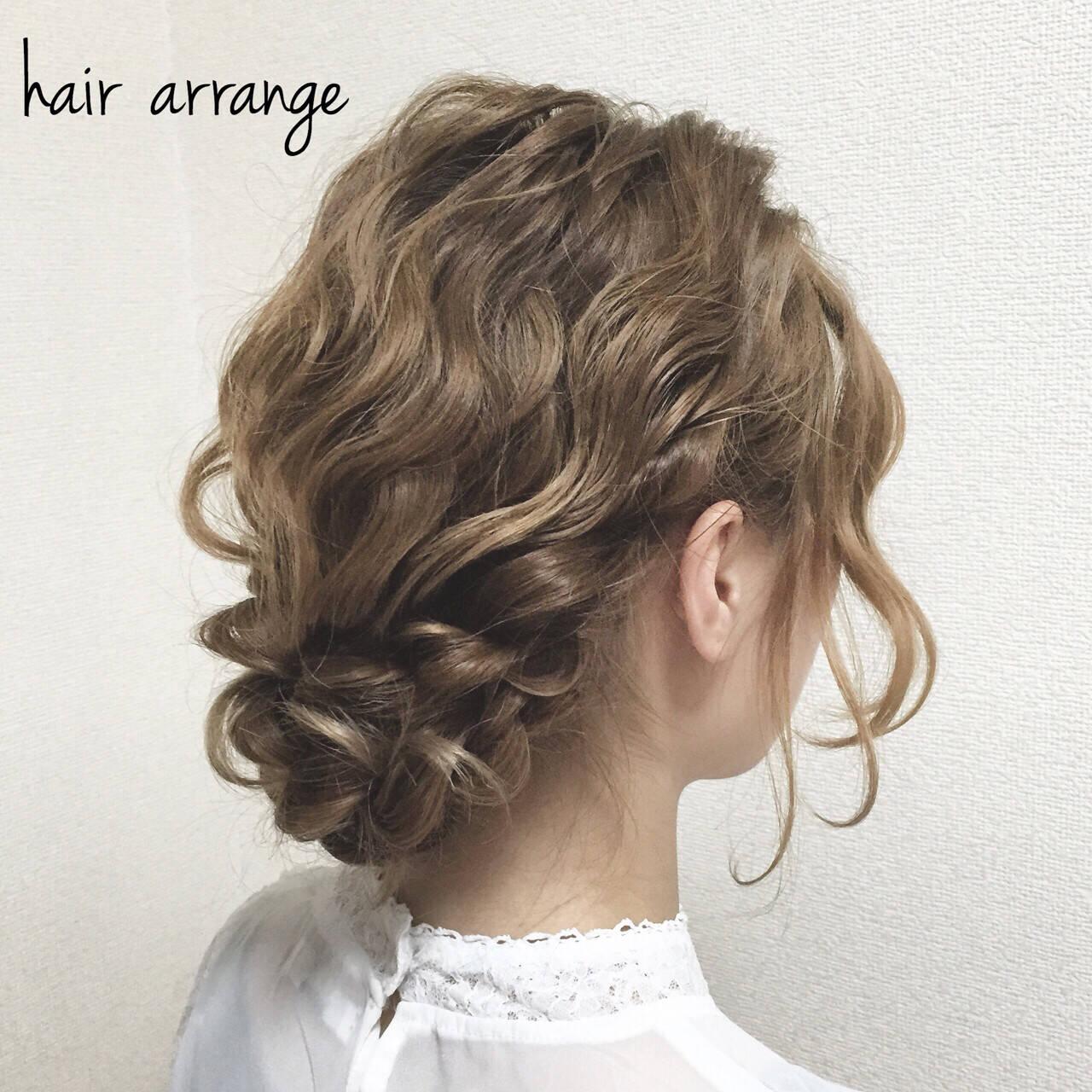 成人式 ヘアアレンジ パーティ ショートヘアスタイルや髪型の写真・画像