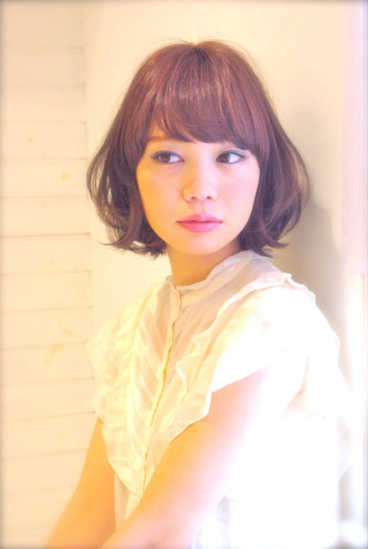 愛され ゆるふわ モテ髪 フェミニンヘアスタイルや髪型の写真・画像