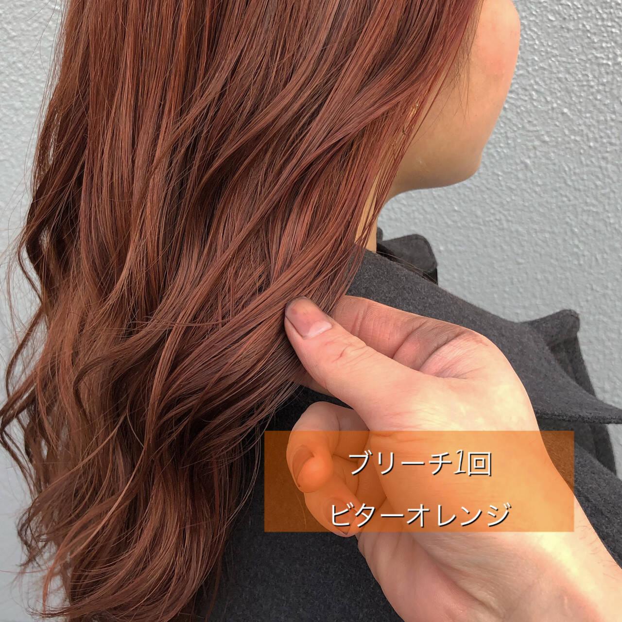 ヘアカラー 初カラー ブリーチ ストリートヘアスタイルや髪型の写真・画像