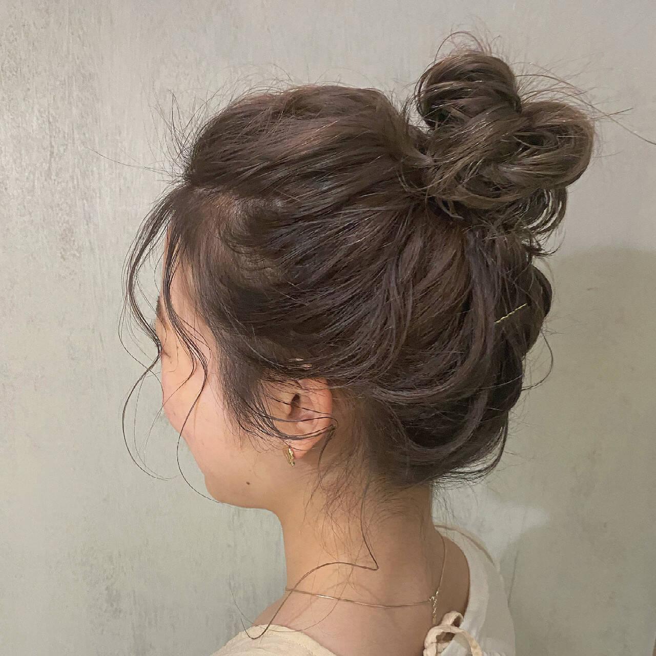 結婚式 セミロング デート 大人かわいいヘアスタイルや髪型の写真・画像