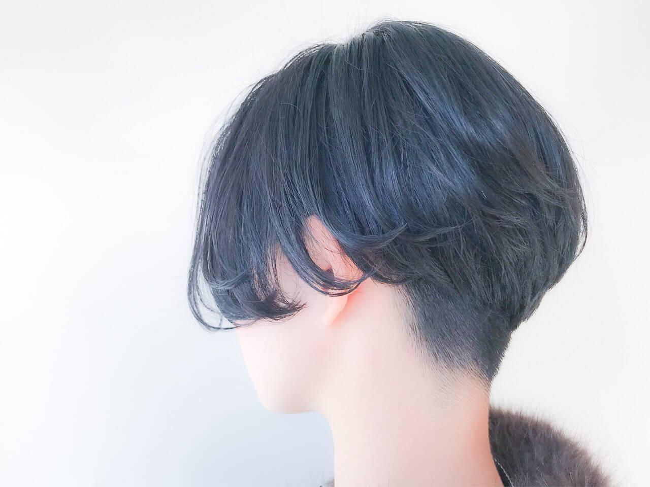 愛され ショート オフィス モードヘアスタイルや髪型の写真・画像