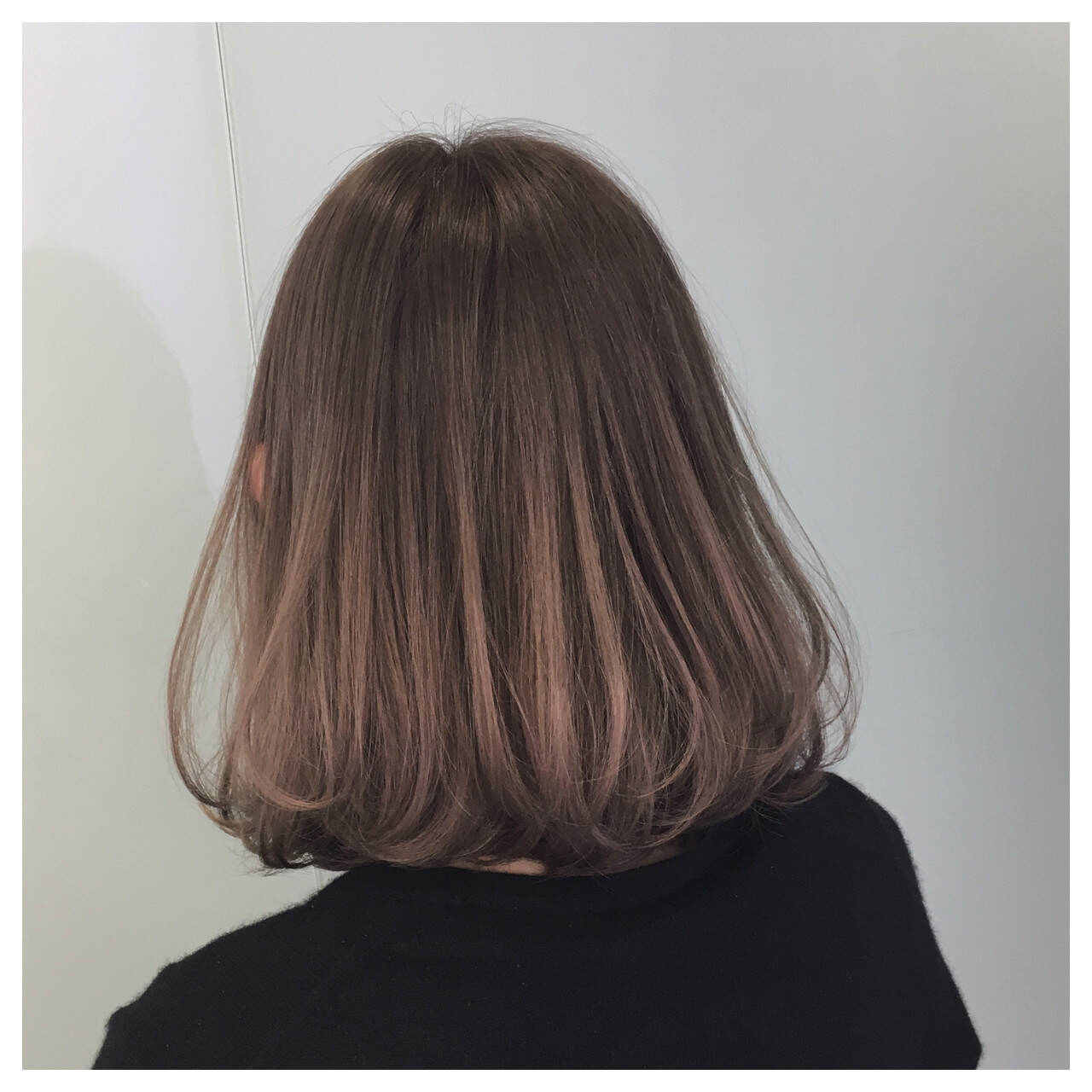 愛され ミディアム グラデーションカラー ゆるふわヘアスタイルや髪型の写真・画像