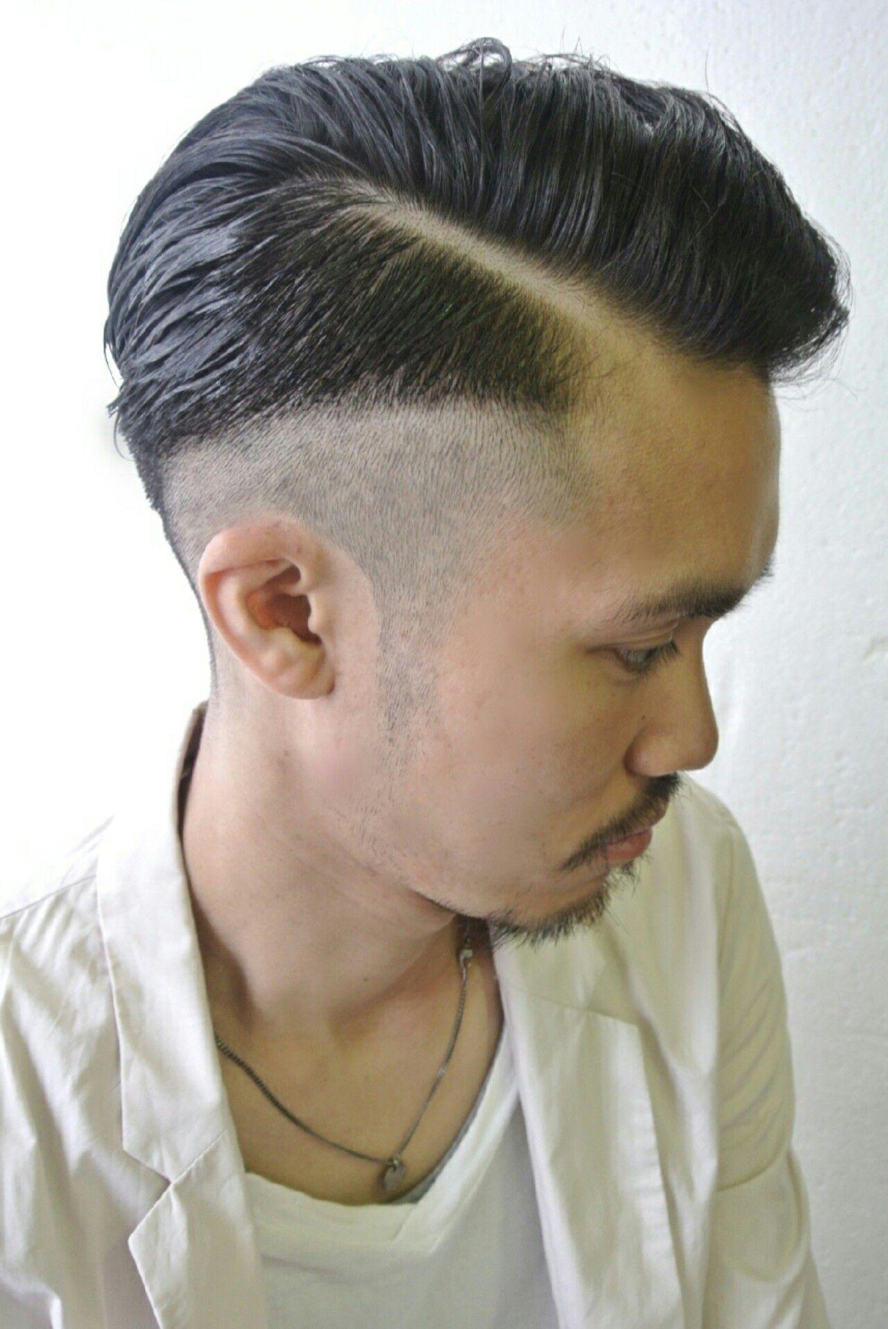 メンズ 黒髪 ボーイッシュ ショートヘアスタイルや髪型の写真・画像