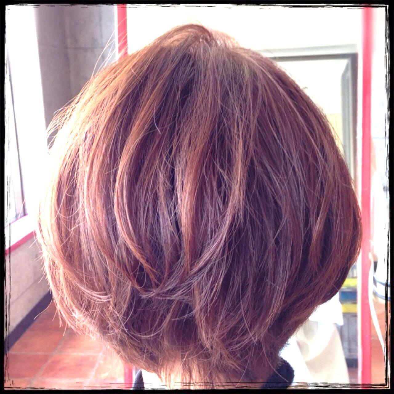 アッシュ ショート モテ髪 愛されヘアスタイルや髪型の写真・画像