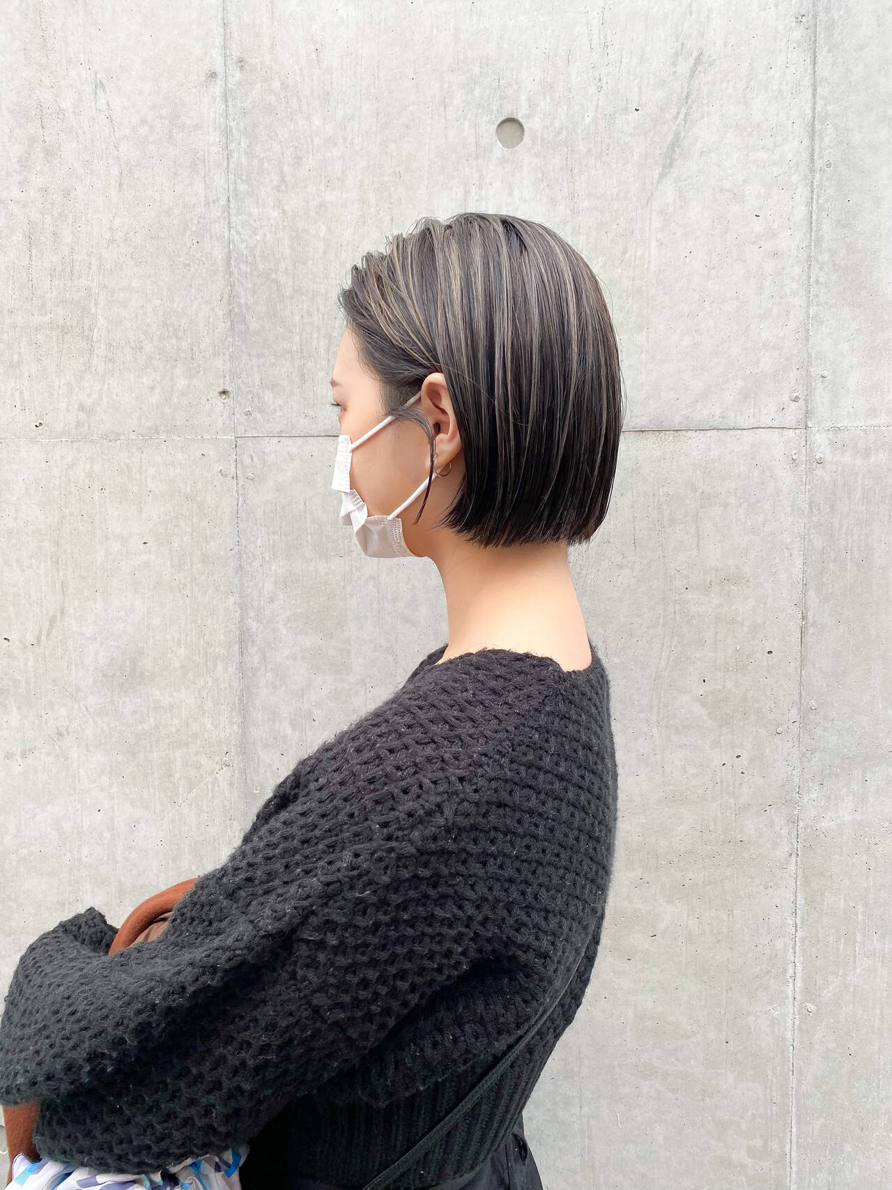 インナーカラー モード ショートヘア ショートヘアスタイルや髪型の写真・画像