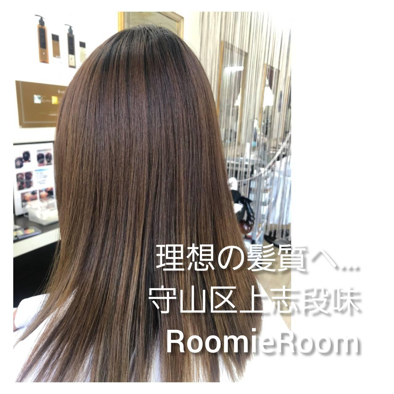 名古屋市守山区 髪の病院 髪質改善 美髪ヘアスタイルや髪型の写真・画像