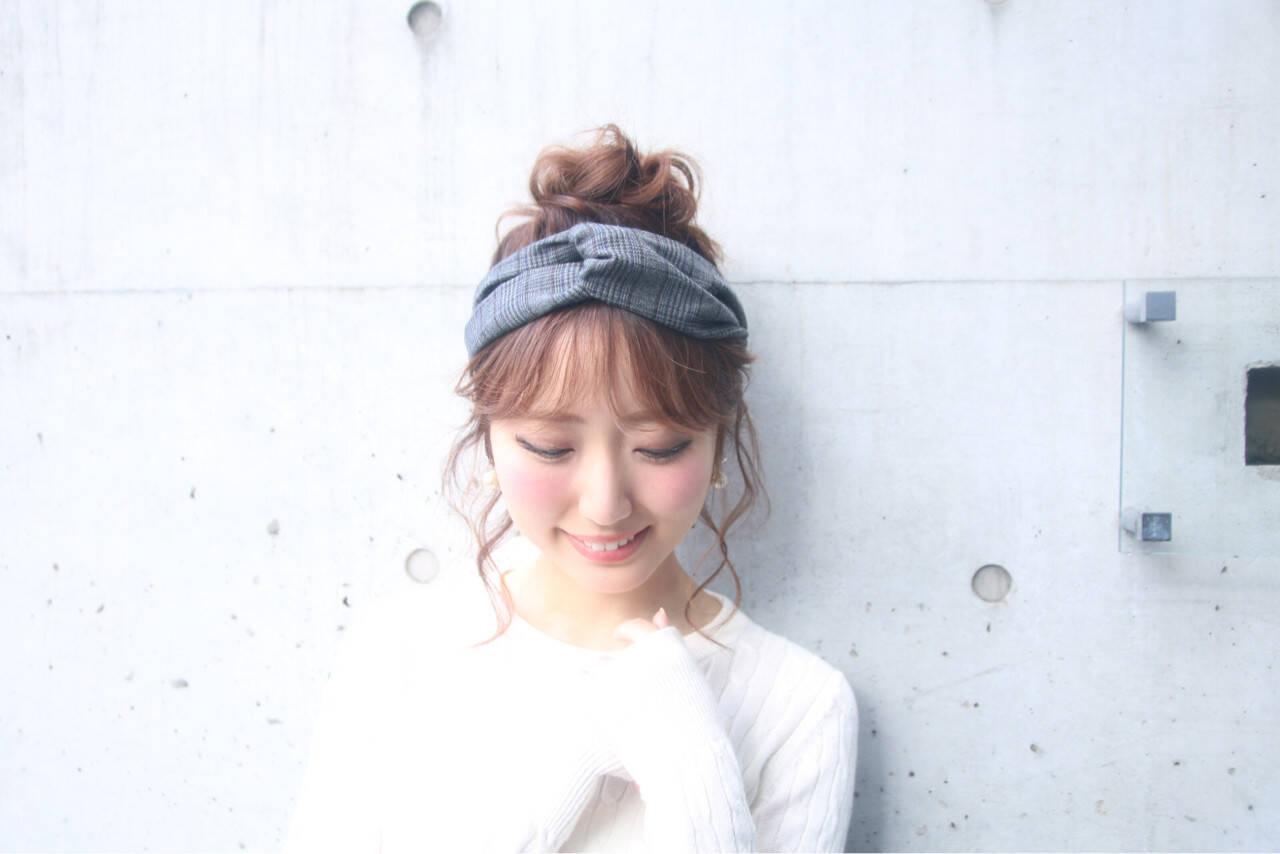 ヘアアレンジ デート アウトドア 簡単ヘアアレンジヘアスタイルや髪型の写真・画像