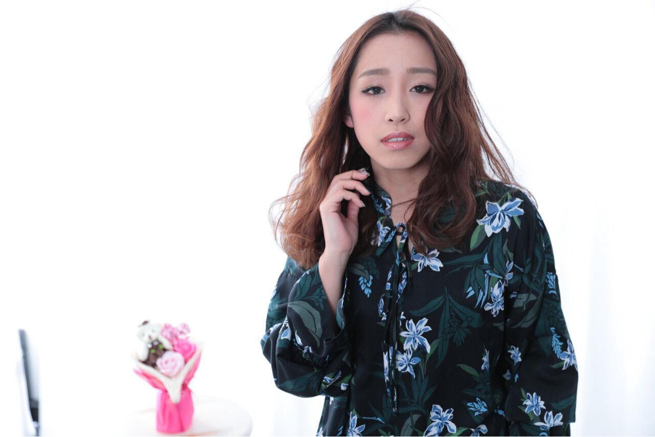 かっこいい ロング かわいい 大人女子ヘアスタイルや髪型の写真・画像