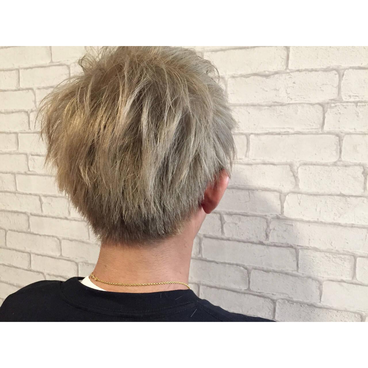 ボーイッシュ メンズ ストリート ヘアアレンジヘアスタイルや髪型の写真・画像