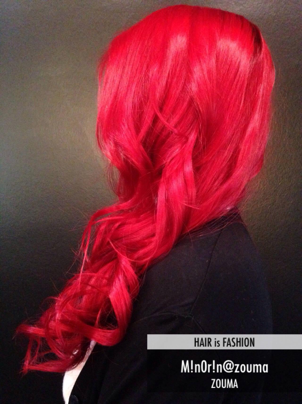 カラーバター カラートリートメント モード 外国人風ヘアスタイルや髪型の写真・画像