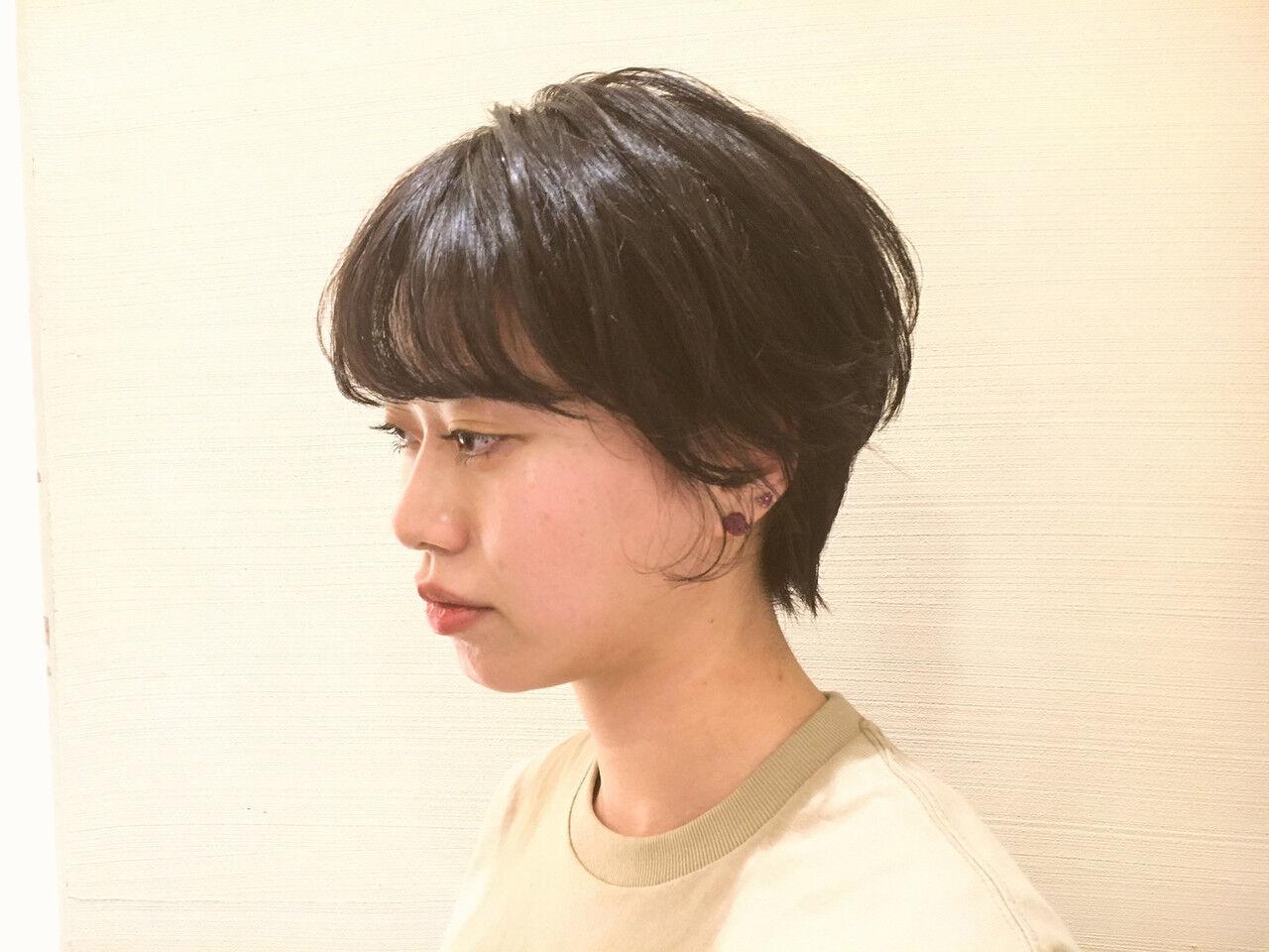 ヘアアレンジ デート ショート アウトドアヘアスタイルや髪型の写真・画像