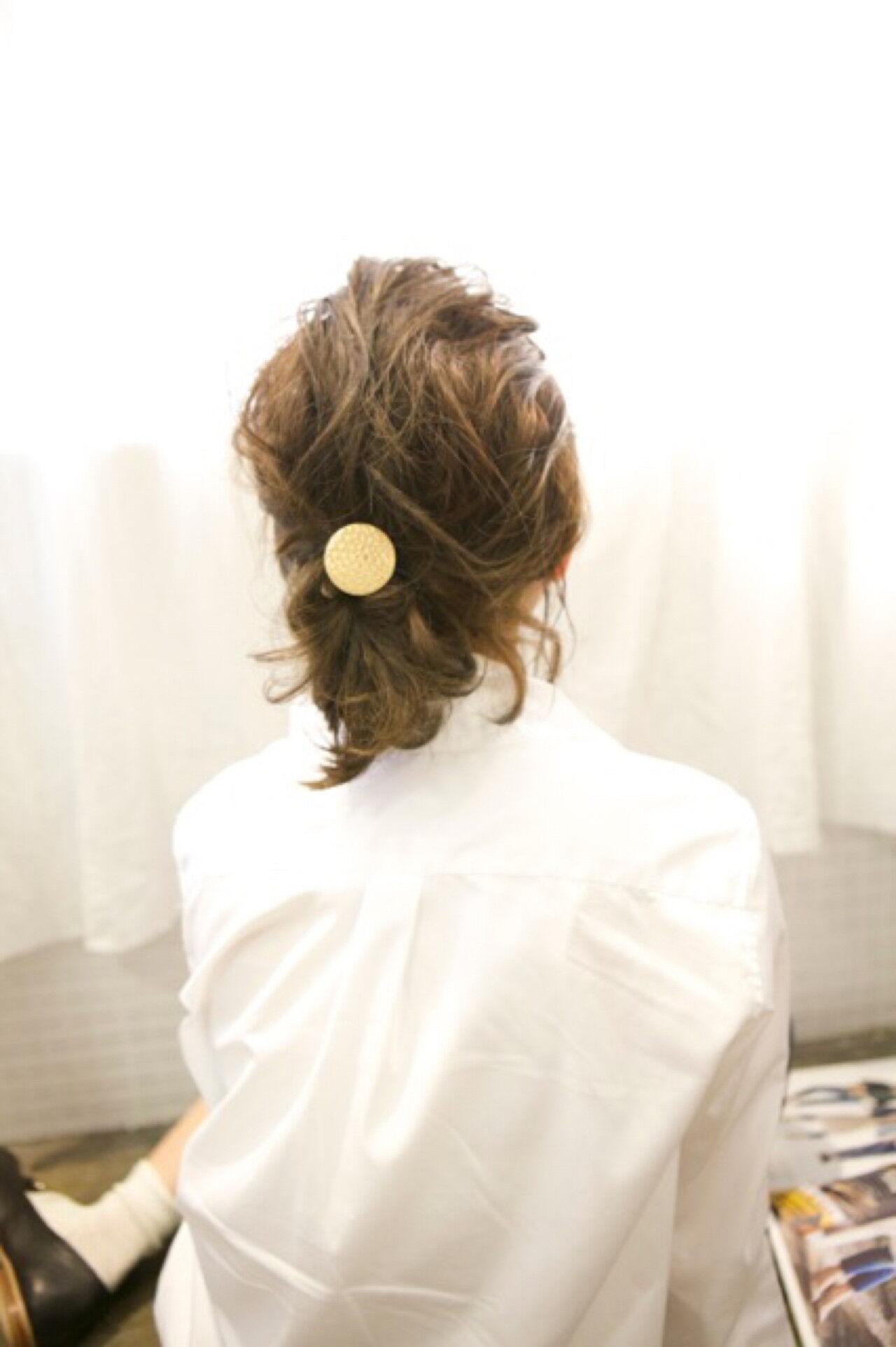 夏 ヘアアレンジ 編み込み 外国人風ヘアスタイルや髪型の写真・画像