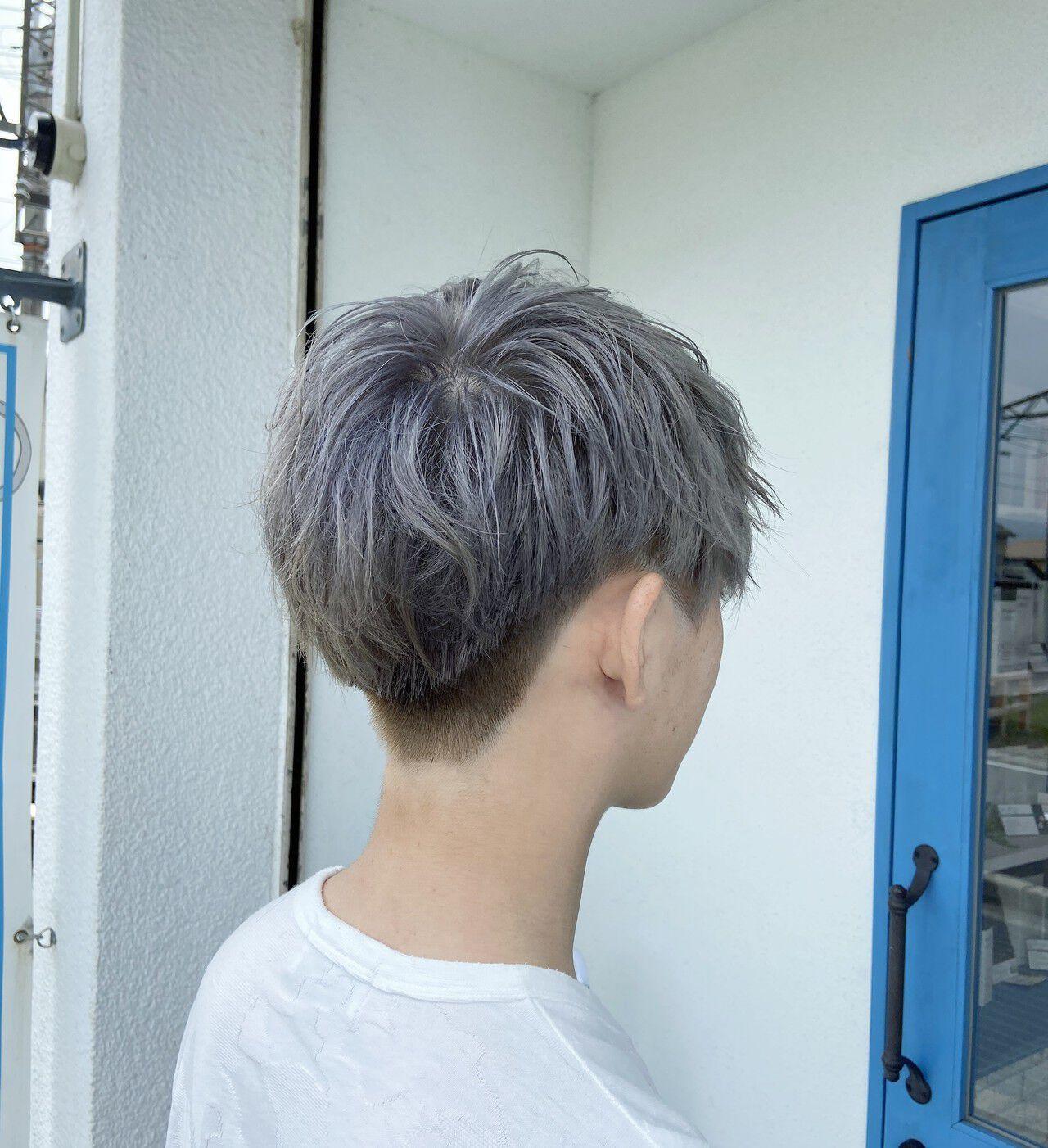 ショート メンズカジュアル メンズショート メンズヘアスタイルや髪型の写真・画像