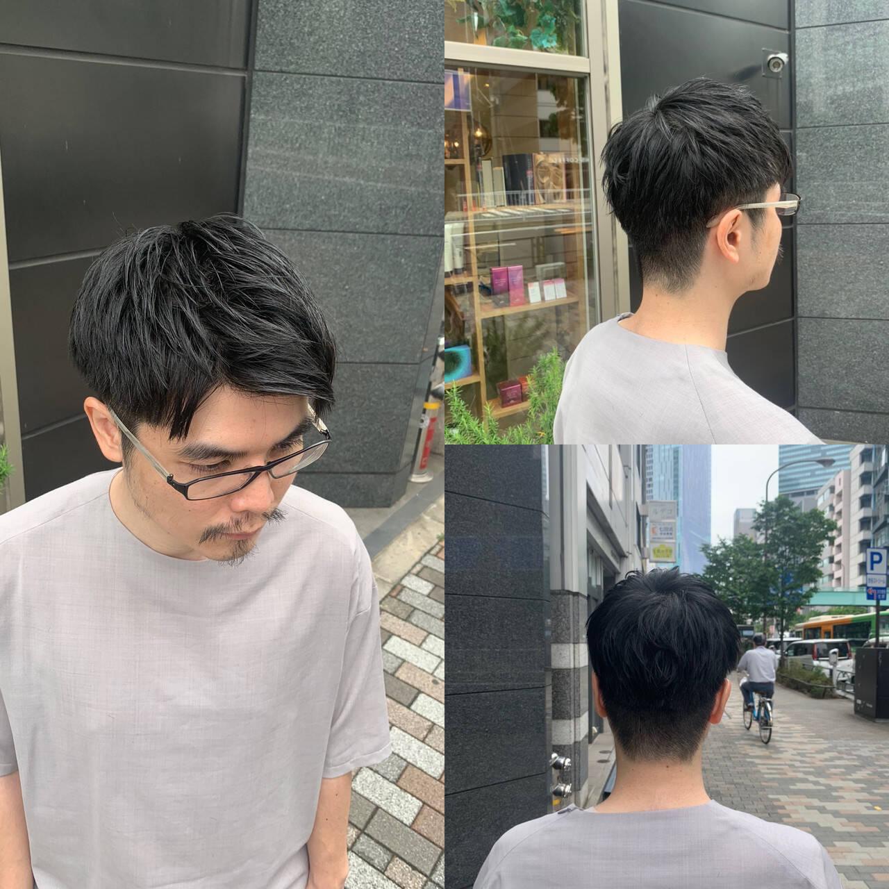 メンズカット メンズヘア ショート ストリートヘアスタイルや髪型の写真・画像